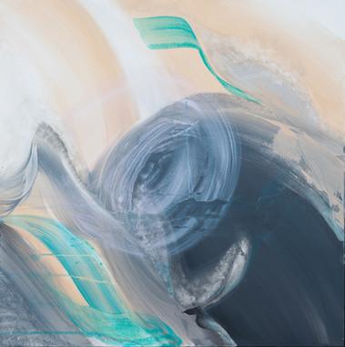 Intuition     I     Acrylique sur toile    I      100x100cm