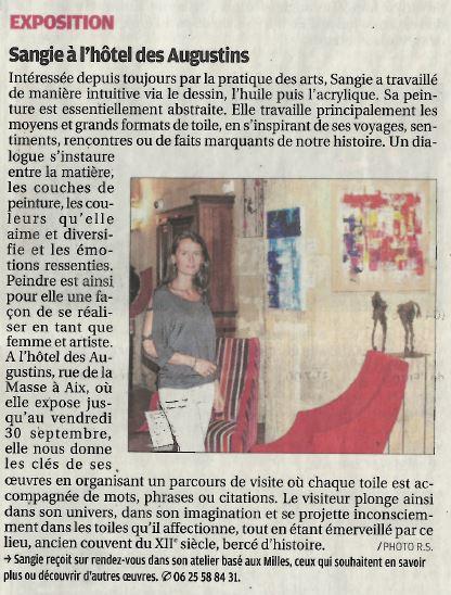 Journal La Provence, 2017