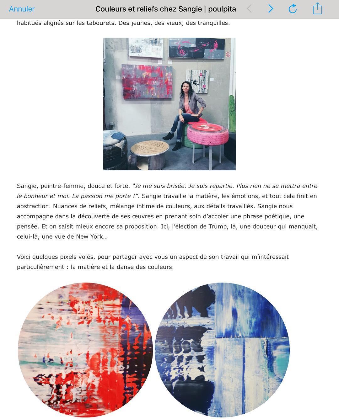 Blog Poulpita / Art, 2017