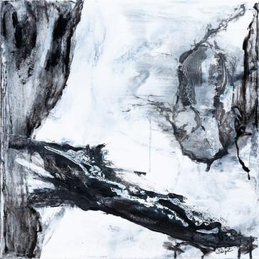 Origin     I     Acrylique sur toile    I      50x50cm