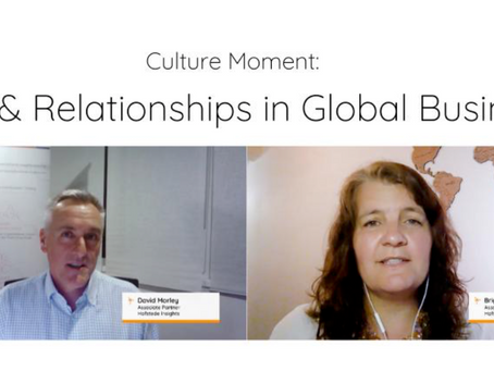 Trust and Relationships across Cultures