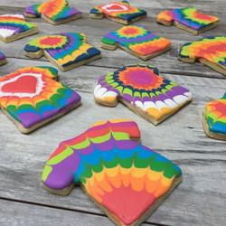 Tye Dye Cookies