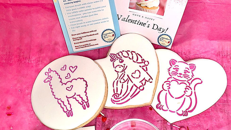 ANIMAL FRIENDS- Paint Your Own Cookie Kit
