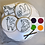 Thumbnail: Paint Your Own Cookie Gift Set - Rainbow, Sloth,Llama, Unicorn
