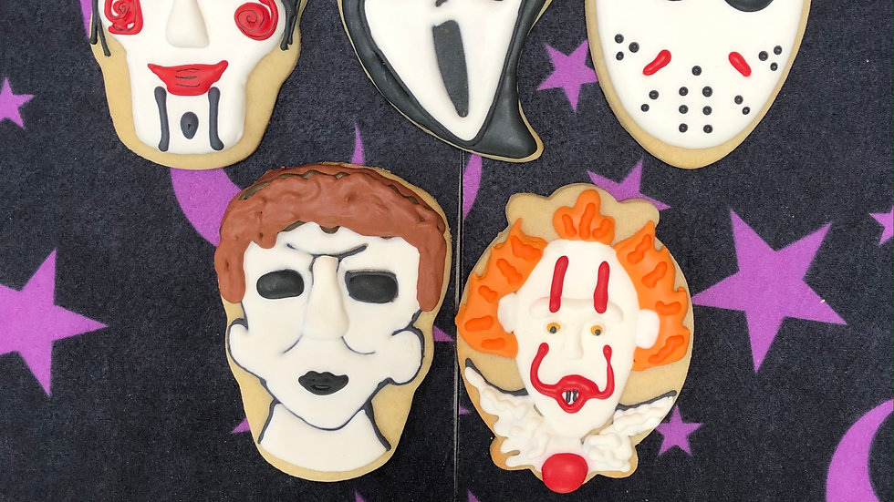 Oh the Horror - Movie Villain Cookie Gift Box