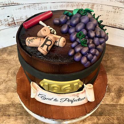 wine barrel cake.JPG
