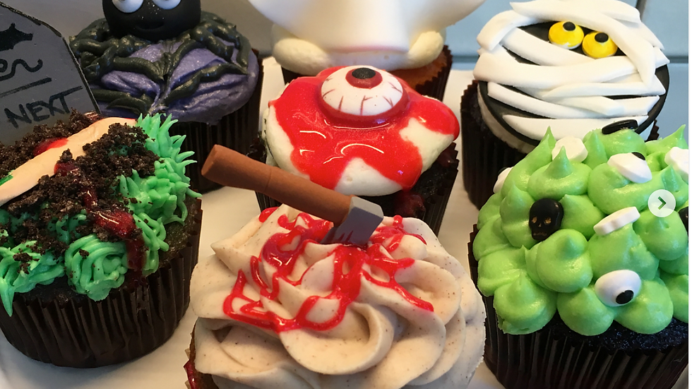 Halloween Cupcake Boxes (various sizes) LOCAL ONLY
