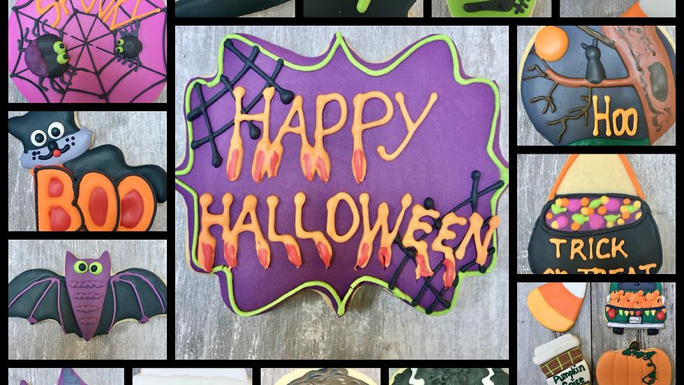 Ala Carte (Individual)  Halloween Cookies - Mix n Match