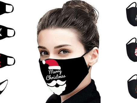 Christmas Face Masks - Reusable