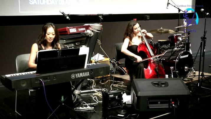 CLICK TO PLAY GJILBERTA LUCAJ & ELAINE KWON COMMAND PERFORMANCE