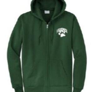 Hooded Full Zip Sweatshirt