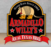 Tu Oct 15 - Dining for Dollars @Armadillo Willy's