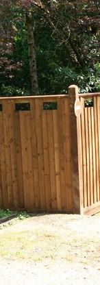 Fencing Close Board Castle Top