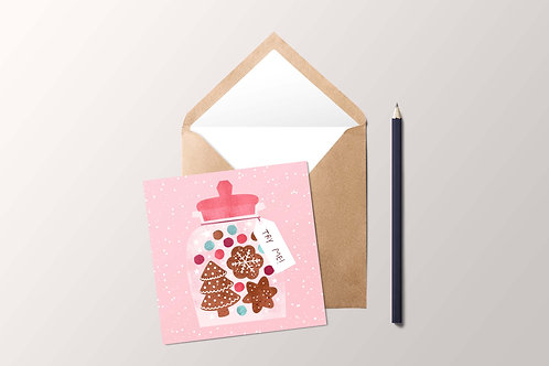 Cookie Jar Card