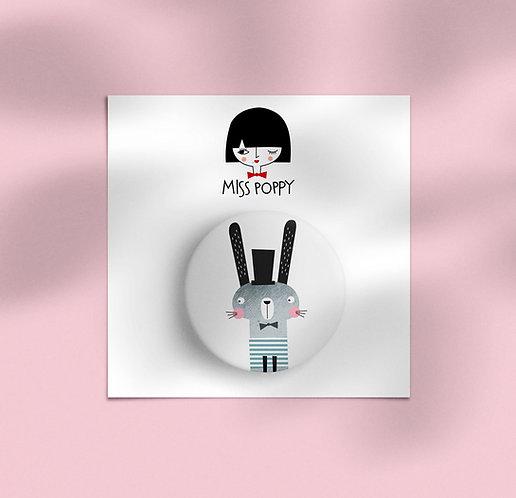 Bunny Pin Badge