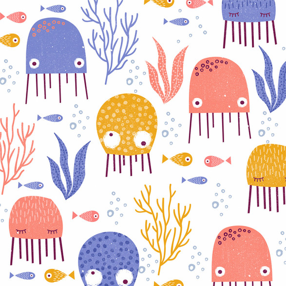 Jelly Fish Pattern