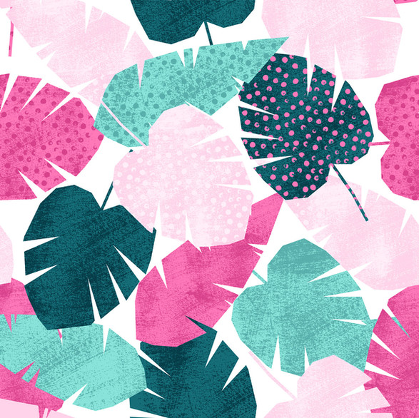 Tropical Colorful Pattern