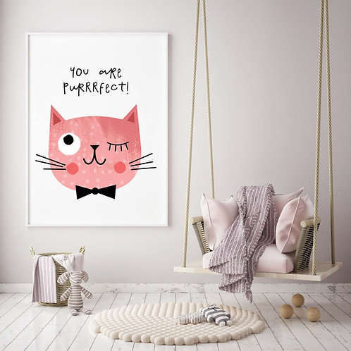 Purrrfect Cat