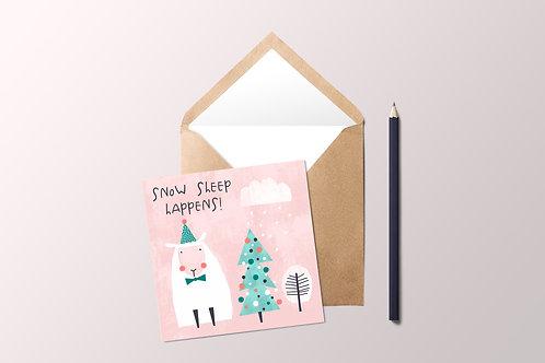 Snow Sheep Card