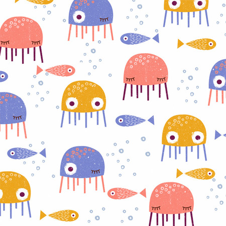 Jelly Fish Pattern