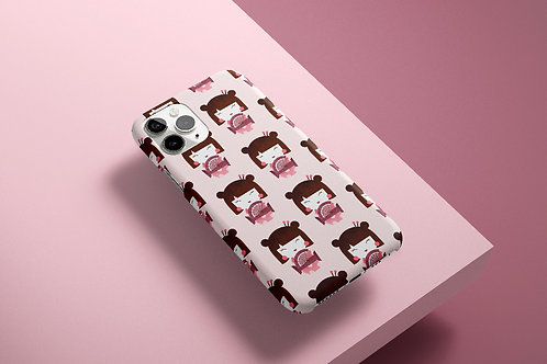 Japanese Doll Pattern - Phone Case