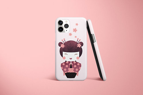 Kokeshi Dolly - Phone Case