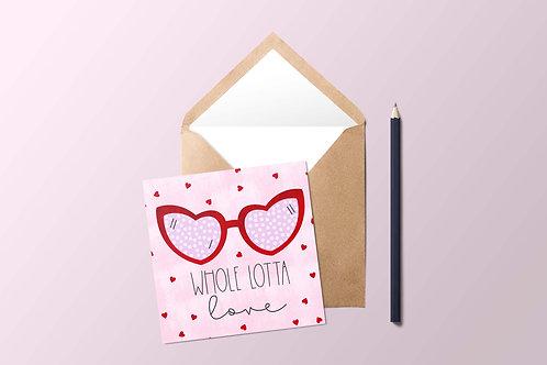 Whole Lotta Love Card