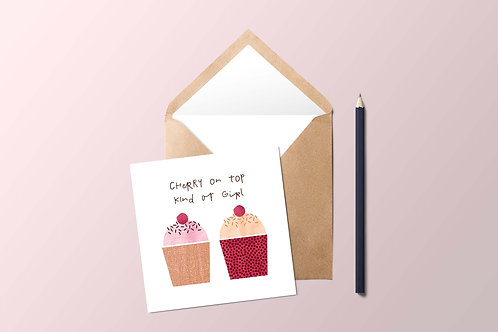 Cherry On Top Card