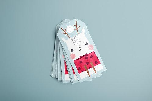 Cute Deer Gift Tags 20/1