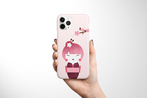 Kokeshi Phone Case