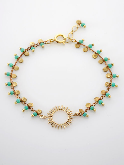 Solaire turquoise