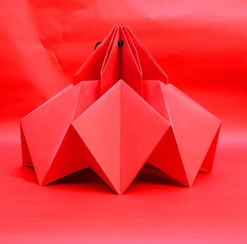 Chapéu Chinês Vermelho