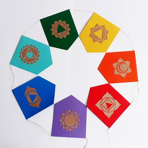 Bandeira Chakras