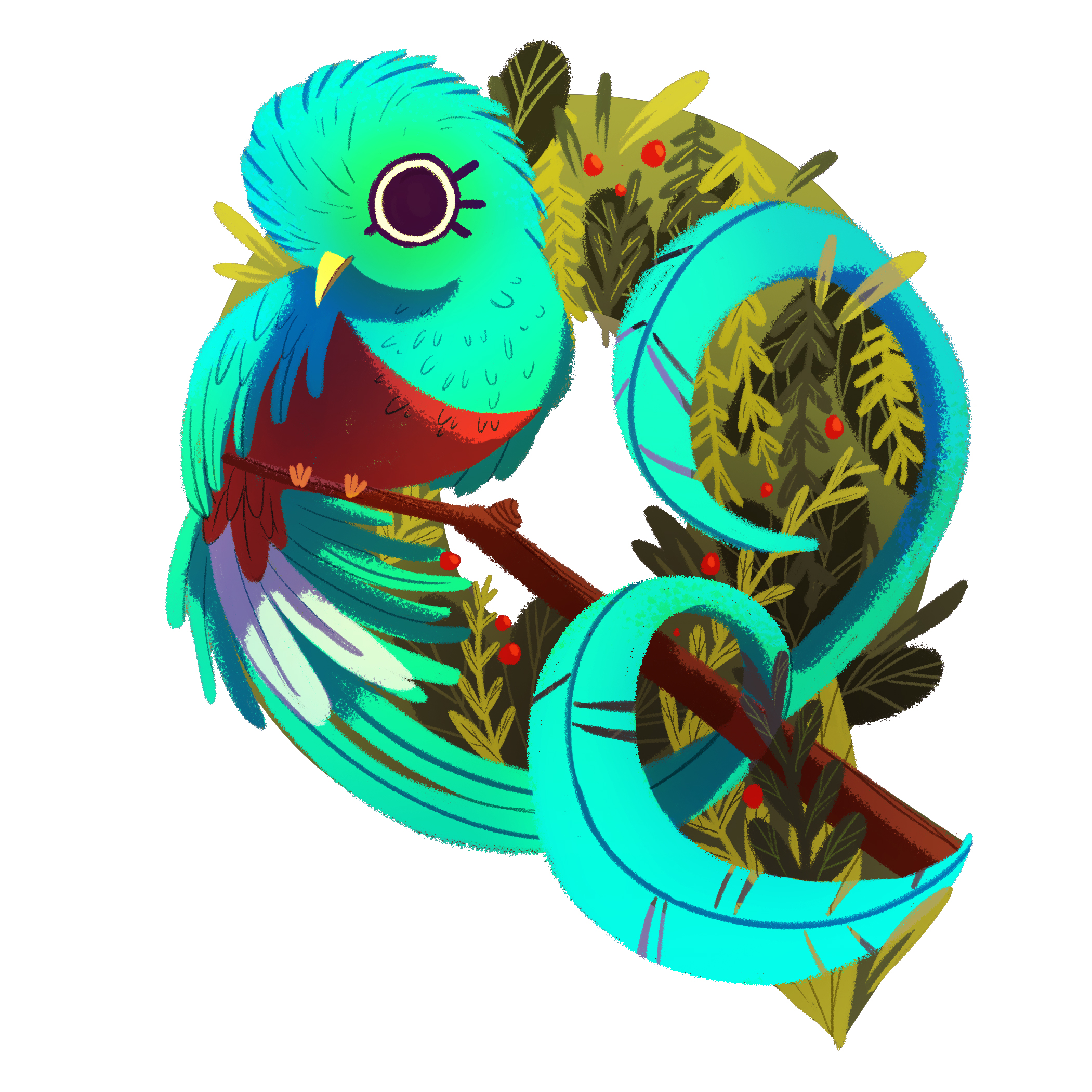 Q is for Quetzal