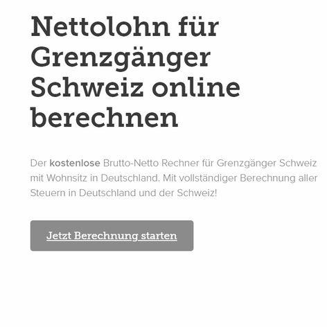 Content für Landingpage - lohncomputer.ch