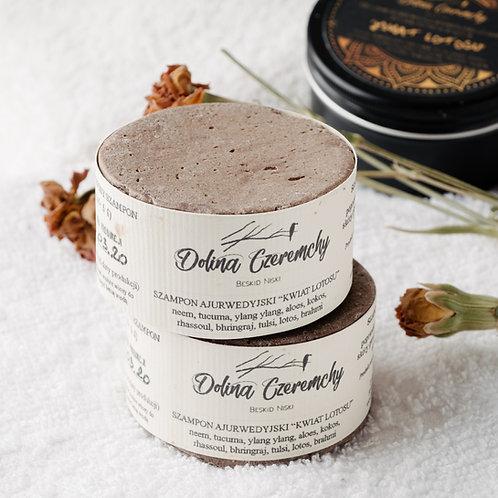 Ajurwedyjski szampon w kostce 'Kwiat lotosu'