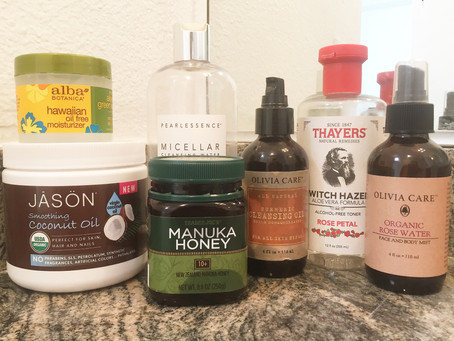 My Natural Skincare Routine for Acne Scarring + Progress Pics