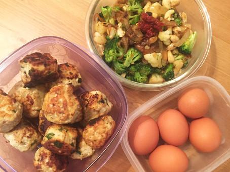 #MealPrepMonday ft. Homemade Turkey Meatballs