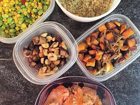 #MealPrepMonday ft. Pan-Cooked Salmon