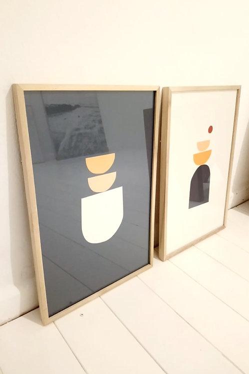 DÚO cuadros L (Láminas a elección)