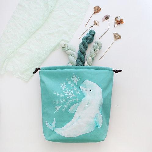 Beau | Project Bag (Beluga Whale)