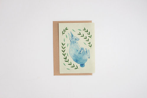 Rabbit 4x6 Inches Print