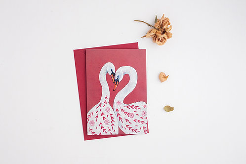 Rose & Lina | Greeting Card