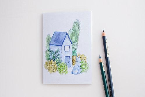 Blue Rabbit Notebook
