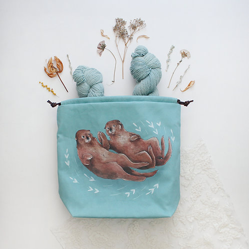 Hector & Maurice | Project Bag (Otters)