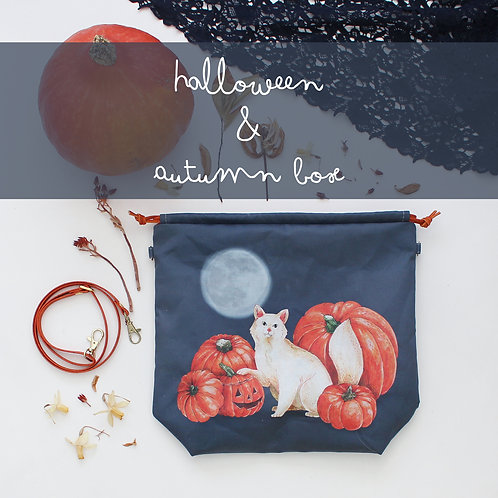 PREORDER | Halloween & Autumn Box | Project Bag & Cosy Goodies
