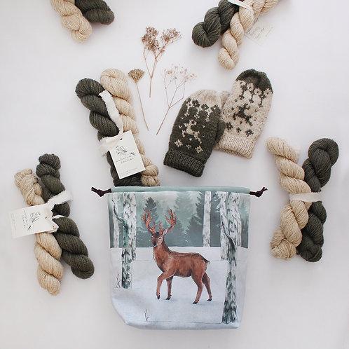 PREORDER | Finnfolk Club | Project bag, Yarn & Knitting Pattern