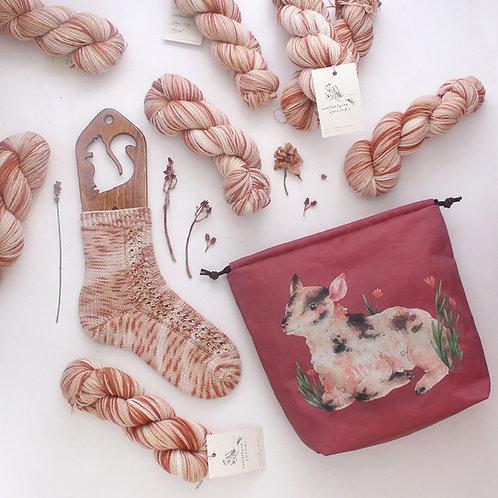 Alma | Yarn & Pattern Kit (project bag, yarn & pattern)