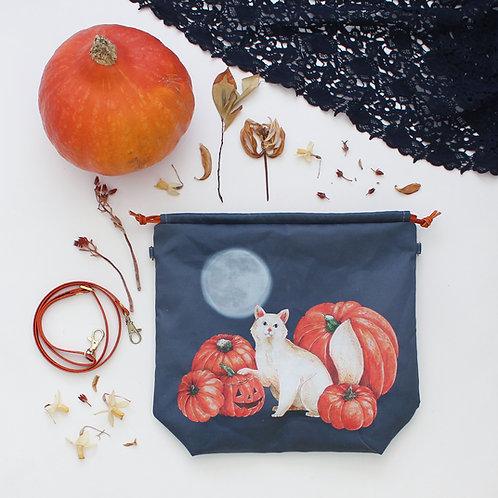 Minerva | Project Bag (Halloween Cat)