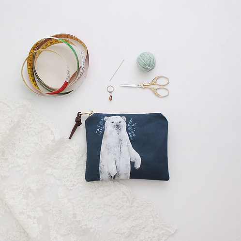 Boris | Small Zipper Pouch